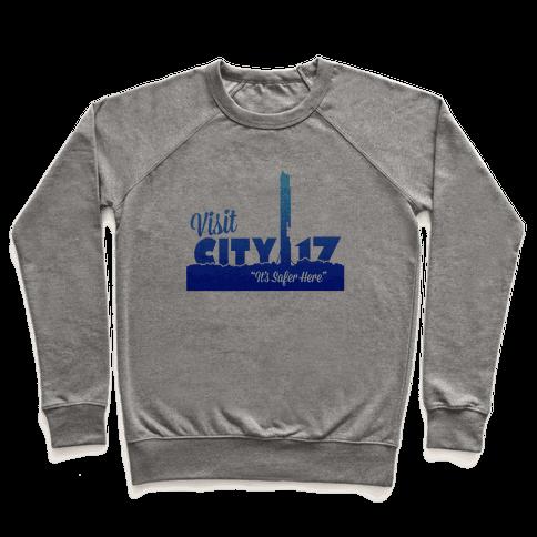 Visit City 17 Pullover