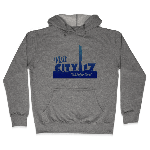 Visit City 17 Hooded Sweatshirt