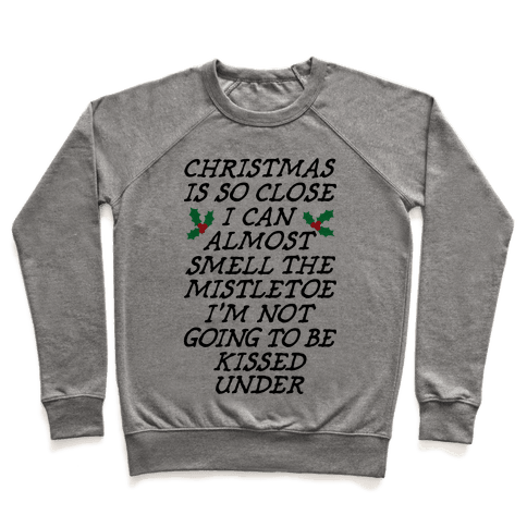 Christmas Is Close Pullover