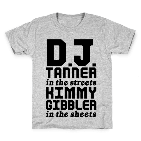 DJ Tanner In The Streets Kids T-Shirt