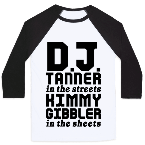 DJ Tanner In The Streets Baseball Tee
