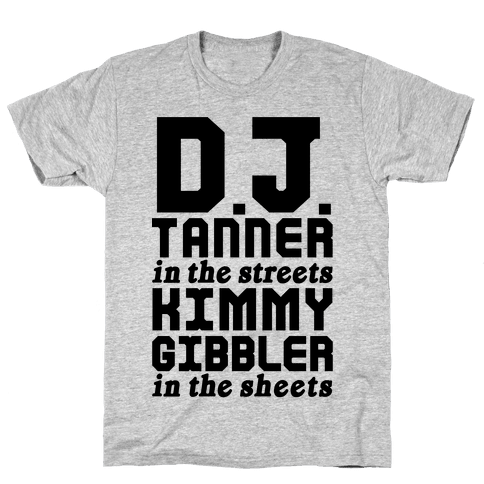 DJ Tanner In The Streets Mens T-Shirt