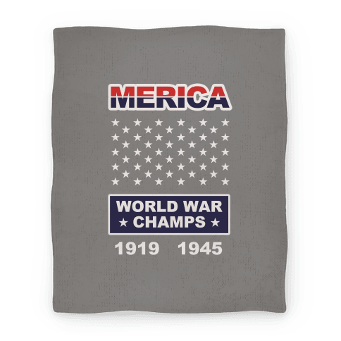 Merica WW Champs Blanket