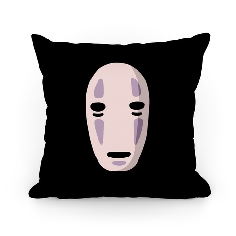 No Face Pillow Pillow