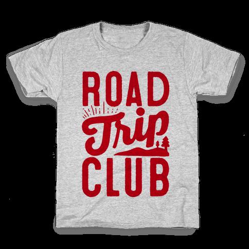 Road Trip Club Kids T-Shirt