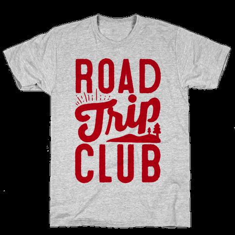 Road Trip Club Mens T-Shirt