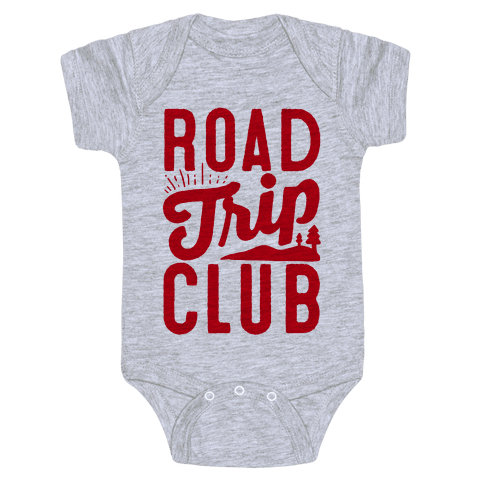 Road Trip Club Baby Onesy