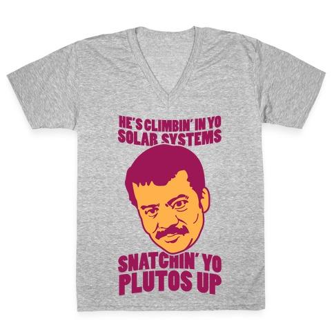 System Intruder V-Neck Tee Shirt