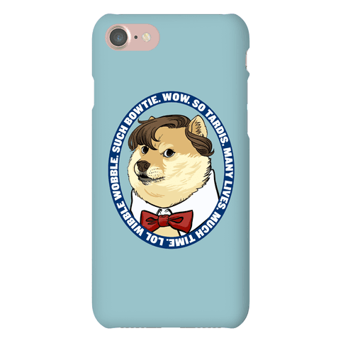The Doctor Doge Phone Case