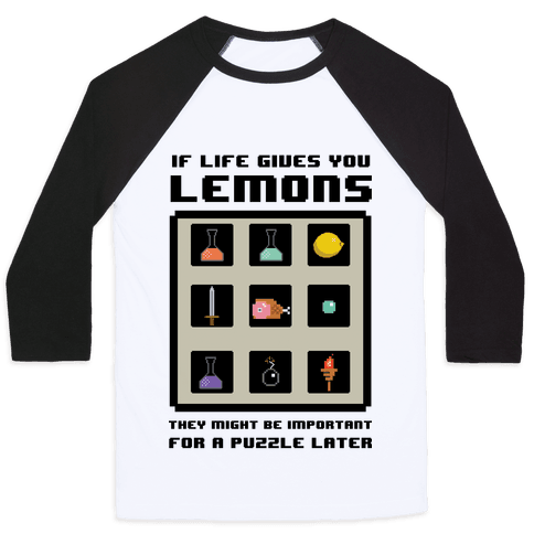 If Life Gives You Lemons They Might Be for A Puzzle Later
