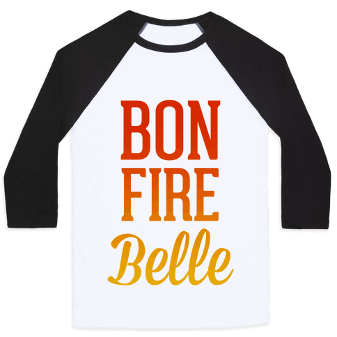 Bonfire Belle Baseball Tee