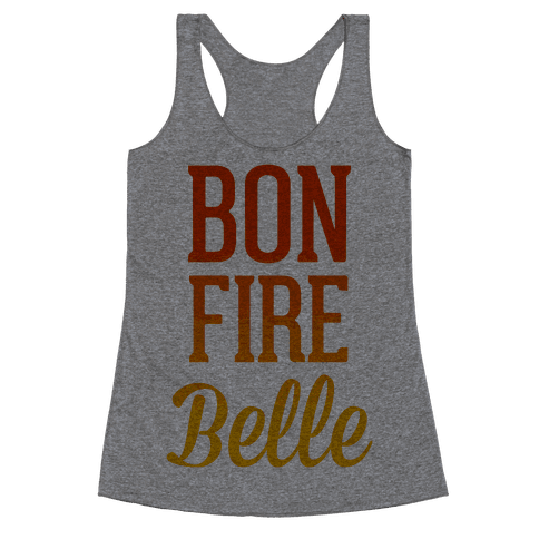 Bonfire Belle Racerback Tank Top