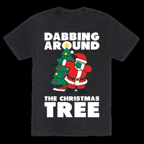 Dabbing Around The Christmas Tree