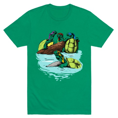 Turtle Power Mens T-Shirt