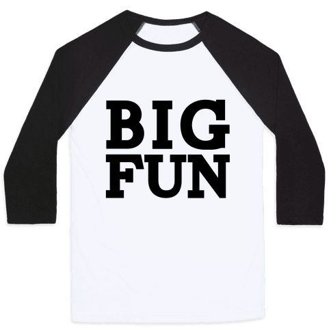 Big Fun Baseball Tee