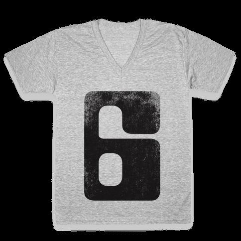 Jonathan E. V-Neck Tee Shirt