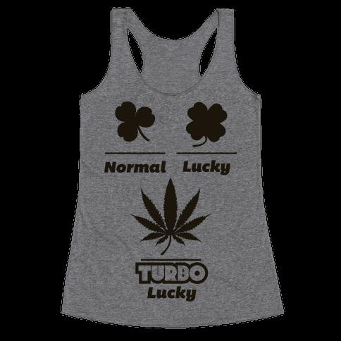 Turbo Lucky Racerback Tank Top