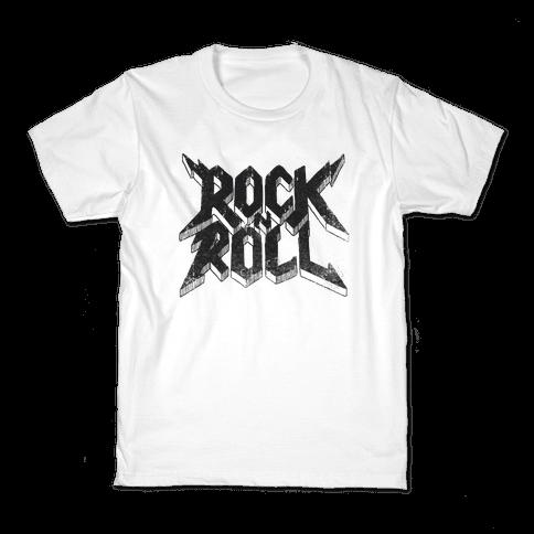 Rock n Roll (vintage) Kids T-Shirt