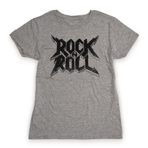 Rock n Roll (vintage) Womens T-Shirt