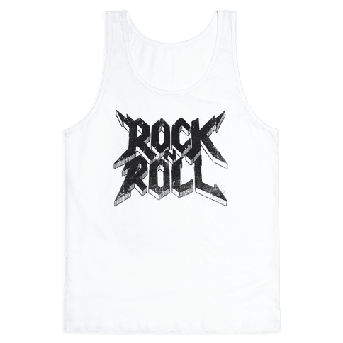 Rock n Roll (vintage) Tank Top
