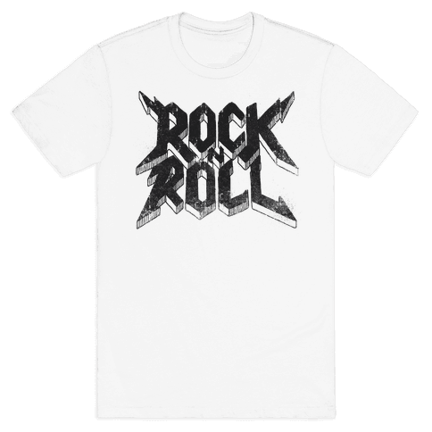 Rock n Roll (vintage) Mens T-Shirt