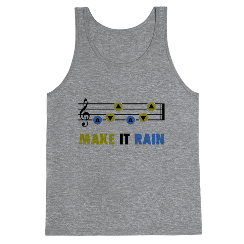 Make It Rain (Song Of Storms) Tank Top