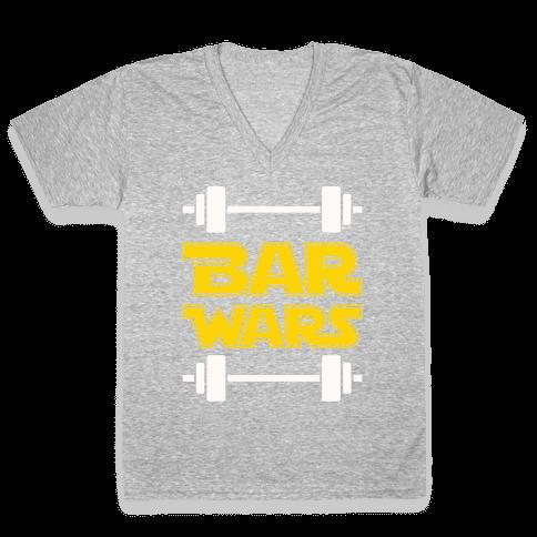 Bar Wars V-Neck Tee Shirt
