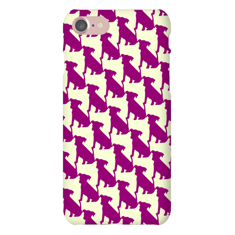 Dogtooth Pattern Phone Case