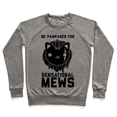 Be Pawpared for Sensational Mews Scar Kitty Pullover