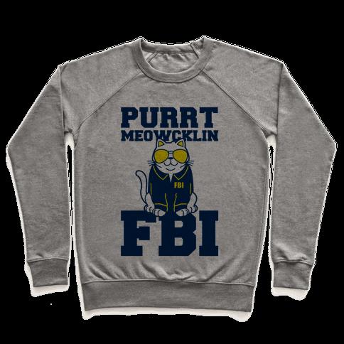 Purrt Meowcklin FBI Pullover