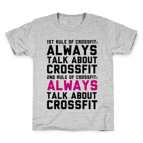 The Rules of Crossfit Kids T-Shirt