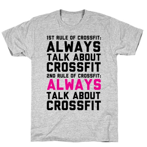 The Rules of Crossfit T-Shirt