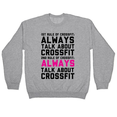 The Rules of Crossfit Pullover