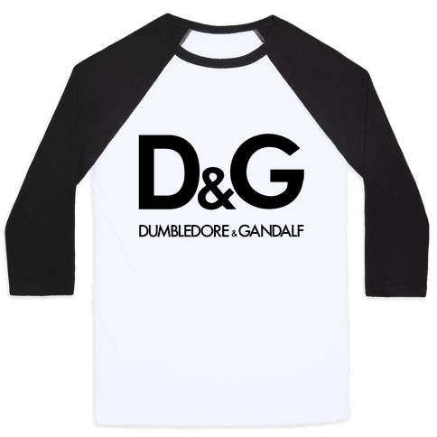 D & G (Dumbledore and Gandalf) Baseball Tee