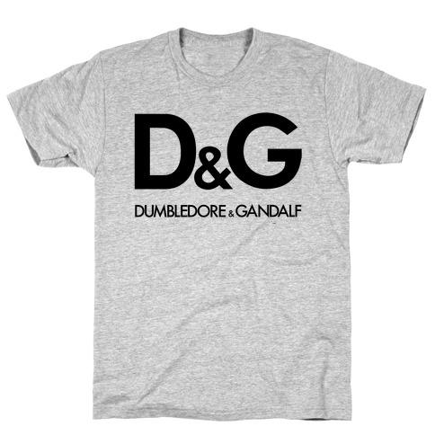 D & G (Dumbledore and Gandalf) Mens T-Shirt