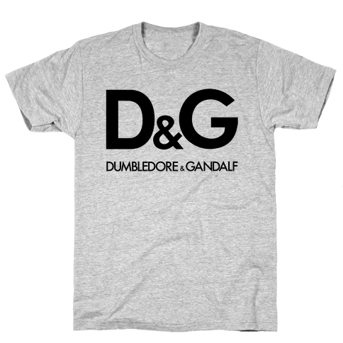 D & G (Dumbledore and Gandalf) Mens T-Shirt