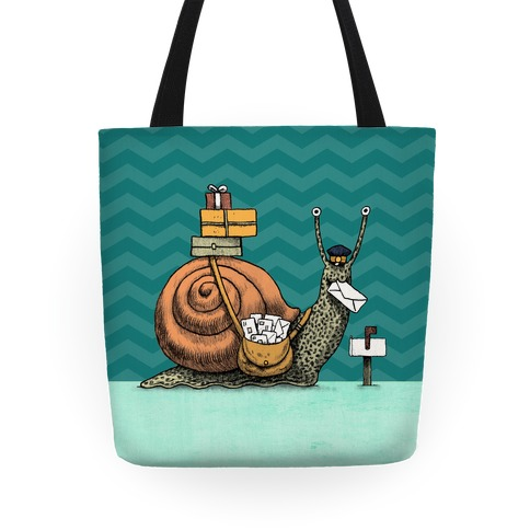 Snail Mail Tote