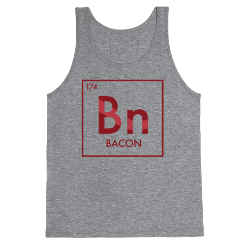 Bacon Science Tank Top