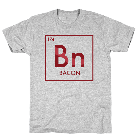Bacon Science Mens T-Shirt
