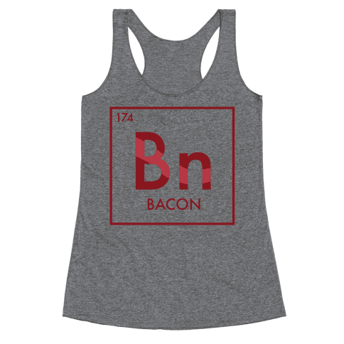 Bacon Science Racerback Tank Top