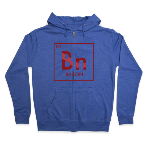 Bacon Science Zip Hoodie