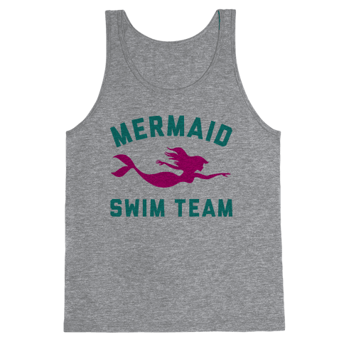 4b2cb79d2e5f9 Mermaid Swim Team T-Shirt | LookHUMAN