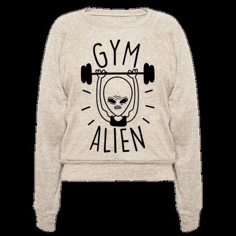 Gym Alien Lifting