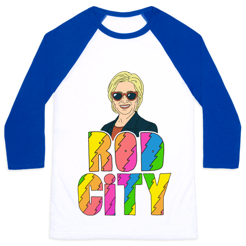 Rod City Baseball Tee