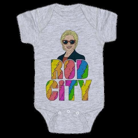 Rod City Baby Onesy