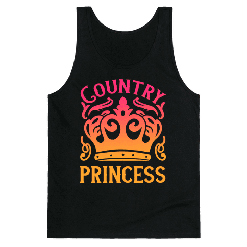 Country Princess Tank Top