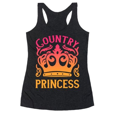 Country Princess Racerback Tank Top