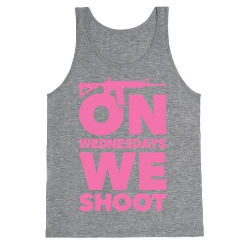 On Wednesdays We Shoot Tank Top