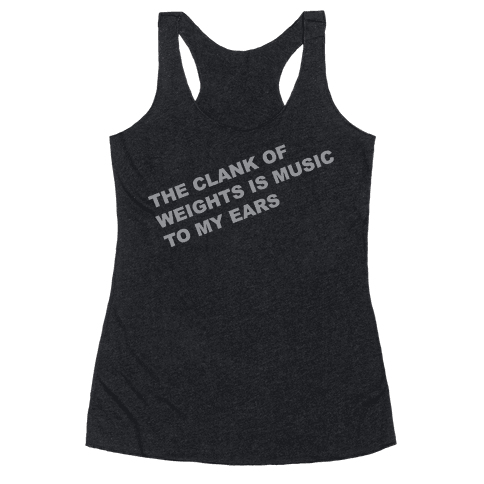 Music to My Ears Racerback Tank Top