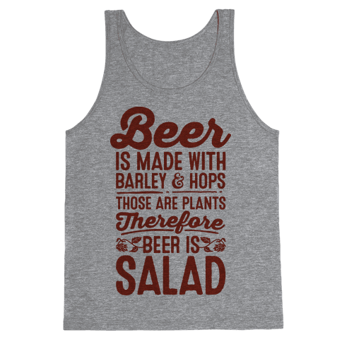 Beer is Salad Tank Top
